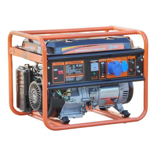 Бензиновый генератор Skiper LT7000EB